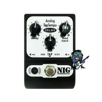Pedal P/ Guitarra Nig Padt Analog Tap Tempo Delay Oferta!!!