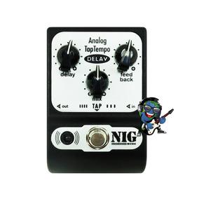 Pedal P/ Guitarra Nig Padt Analog Tap Tempo Delay Promoção!!