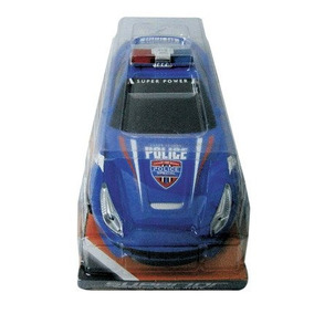 Juguetes Carro A Friccion De Policia Power W/printing