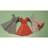 Vestidos De Origami. Sourvenir.