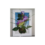Cuadro Flores Rosa - Cala 30 X 22 Cm