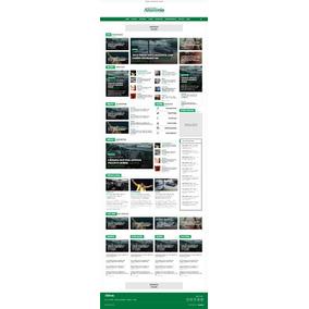 Portal De Notícias 2018 + (licença Para 01 Domínio)