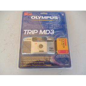 Camara Fotografica Convencional Rollo Olympus Nunca Usada