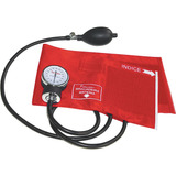 Aparelho De Pressão Analógico Premium Esfh20 Vermelho