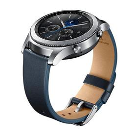 Banda De Cuero Para Gear S3 Classic Navy Azul Acce Samsung
