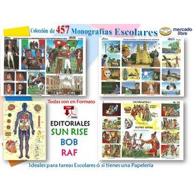 457 Monografías Escolares Y 65 Mapas Material No Físico*