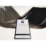 Cortinas De Extensiones 100% Natural 60cm Negro Gris