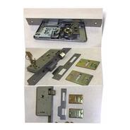 Cerradura Exterior Seguridad Para Puertas Chapa O Madera Pestillo De Bronce Reversible