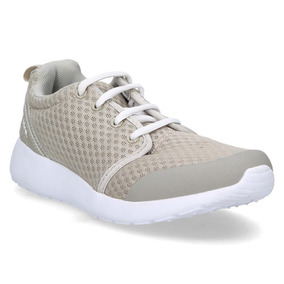 Zapatilla Casual 16 Hrs Mujer Beige - S015