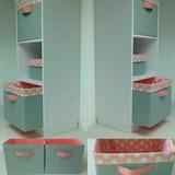 Modular Mueble Estantes Organizador Cajas Gaveteros Madera