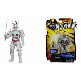 Boneco Miniatura Wolverine Sword Slash Silver Samurai