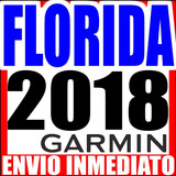 » Mapa Garmin Florida Orlando Miami Usa Estados Unidos |2018