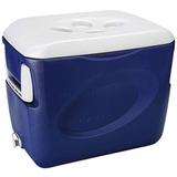 Caixa Térmica Cooler Isopor Invicta 45 Litros Azul