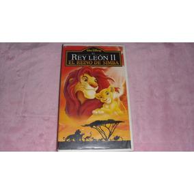 Película Vhs El Rey León 2 El Reino De Simba