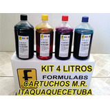 Kit Tinta Recarga Cartucho Impressora Hp K8600 6 Litros Bico