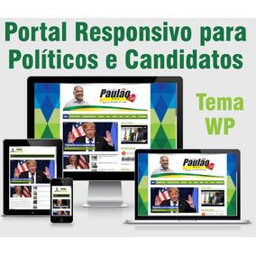 Site Mobile Politico,vereador, Prefeito, Candidato, Deputado