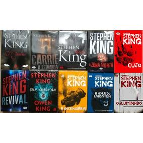 Kit Livros Stephen King - Novos E Lacrados - 10 Livros
