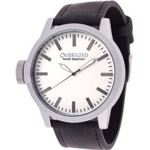 Relógio Grande Social Oversized Wall Street 49mm White