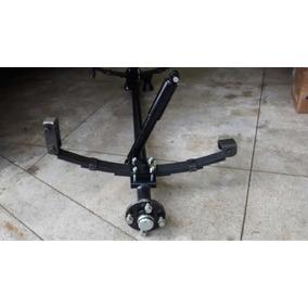 Kit Suspensão Completo Para Carretinha - 500kg