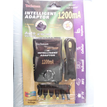 Adaptador Inteligente Techman Ad-1200f. (1200ma)