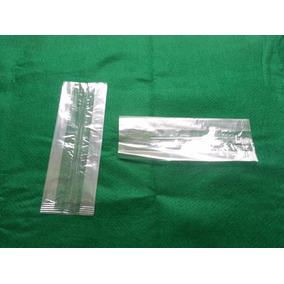 Bolsas Celofán, Polipropileno Transparente 1/4 Kg Con Fuelle
