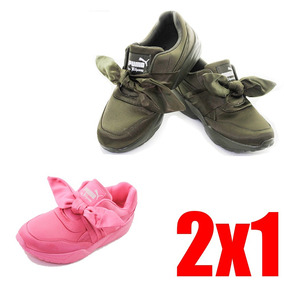 Zapatillas Puma Rihanna Originales Negros Ropa y