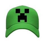 Gorra Tipo Trucker O Malla Minecraft Pixel Creeper