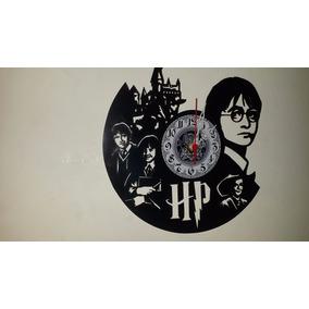 Relógio De Parede Em Mdf Harry Potter