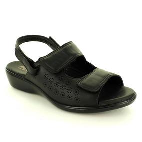 Sandalia Para Mujer Flexi 20516-035175 Color Negro