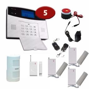 Alarma Gsm Dual Alerta 5s Inalambrica Seguridad Casa App Rif