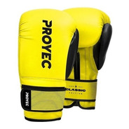Guantes Boxeo Classic Proyec Box Kick Muay Thai Abrojo Pro