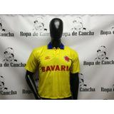 Camiseta Seleccion Colombia Bavaria 93 Talla Xs