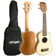 Ukelele Soprano  Alabama Us-202 Con Funda - Full