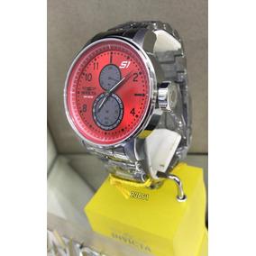 eac5aa60093 Relogio Invicta Com Mostrador Vermelho - Relógios De Pulso no ...