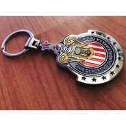 Llavero Oficial Escudo Chivas Metálico Metal 3