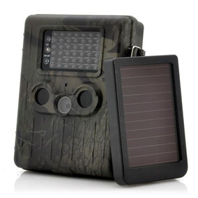 Câmera Trilha V. Not Solar Full-hd 1080p 12mp Gsm Mms E-mail