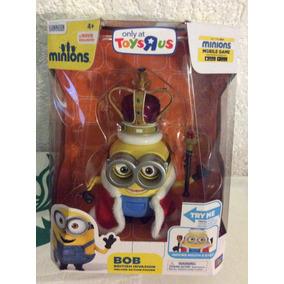 Figura Exclusiva De Minions Bob Con Movimientos En Los Ojos