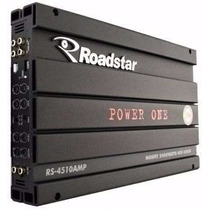 Modulo Amplificador Roadstar Power One Rs-4510 2400w Novo