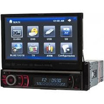 Dvd Auto Tv Digital,usb,sd,bluetooth,cd,dvd, Tela 7 Mod 9760