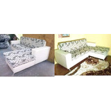 Sofas Muebles Modernos Semicuero Chaise Somos Fabricantes