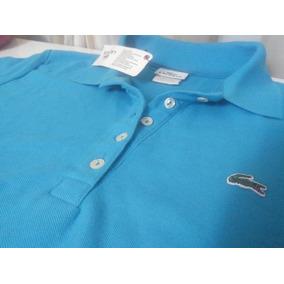 4dec16dc6b4be Camisa Lacoste - Camisas Femininas no Mercado Livre Brasil