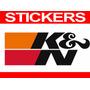Calcomania Sticker K&n