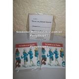 Tarjeta De Invitacion Pitufos Toy Barbie Dora Diego Doki