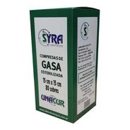 Gasa Estéril Unacur 15cmx15cm - 80 Sobres- Balphin