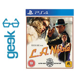 L.a. Noire Para Ps4 - Nuevo - Sellado - Ecuador Geek