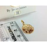 Medalla Pentagrama Tetragramaton En 100% Oro De 18k 750