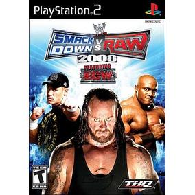 Wwe Smackdown! Vs. Raw 2008 - Ps2 Patch + Encarte