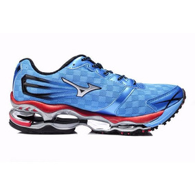 Mizuno Wave Prophecy Running Shoes Blue Prophecy Tênis Azul