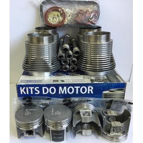 Kit Motor Fusca 1600 1.6 Ar Até 83 Alcool Completo