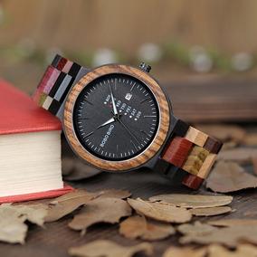 Reloj De Madera Bobo Bird Original